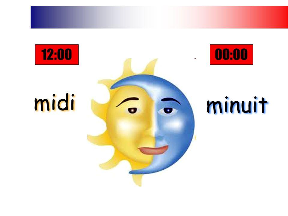 midi midi minuit minuit 12:0000:00