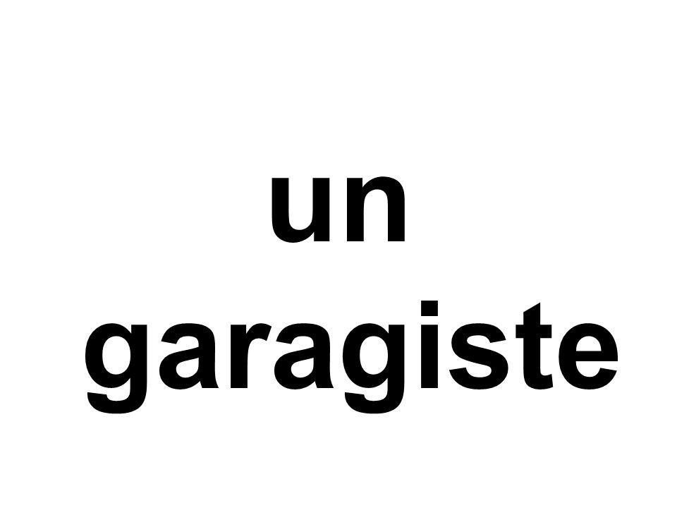 un garagiste