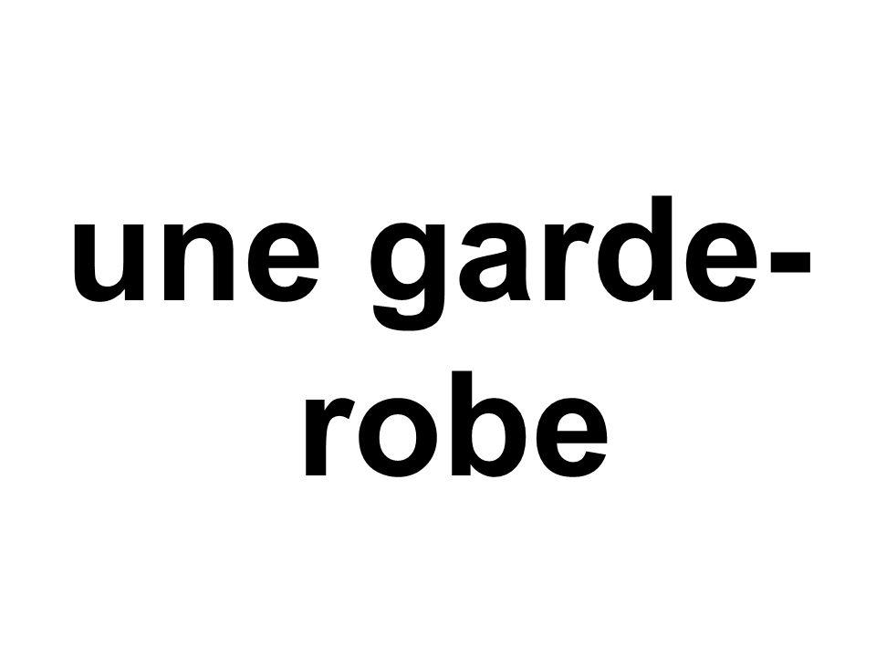 une garde- robe