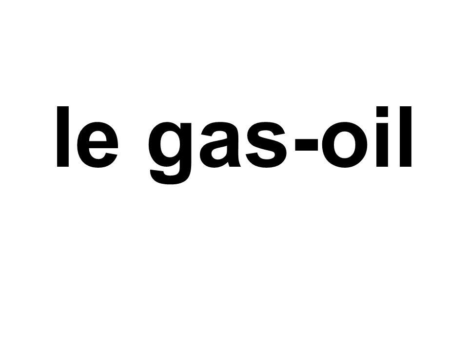 le gas-oil