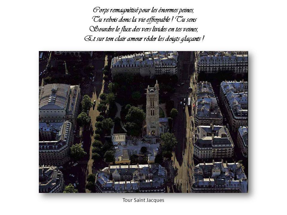 Ô cité douloureuse, ô cité quasi morte, La tête et les deux seins jetés vers l Avenir Ouvrant sur ta pâleur ses milliards de portes, Cité que le Passé sombre pourrait bénir : La basilique du Sacré-Cœur à Montmartre