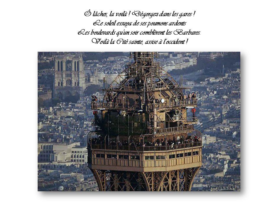 Arthur Rimbaud L orgie parisienne ou Paris se repeuple Par Nanou et Stan La conciergerie sur l'Île de la cité