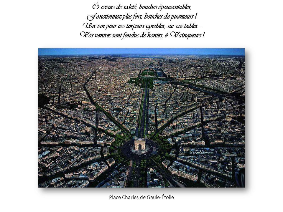 L orage t a sacrée suprême poésie ; L immense remuement des forces te secourt ; Ton œuvre bout, la mort gronde, Cité choisie .