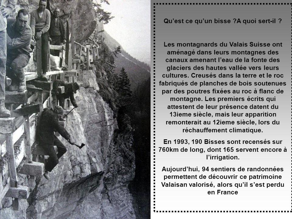 Randonnée Au Fil des Bisses du Valais Suisse Randonnée Au Fil des Bisses du Valais Suisse Septembre 2009 Diapo automatique