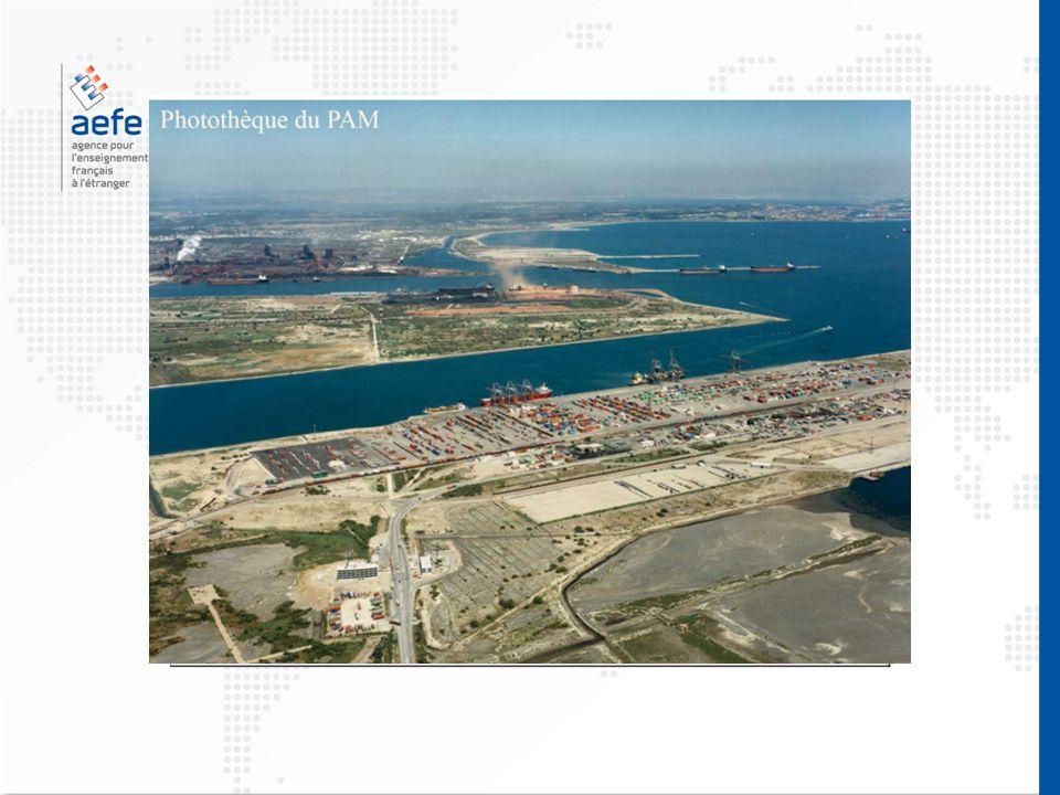 Document d'étude pour la construction de la ZIP de Fos (1960) Comment l'homme a-t-il transformé le littoral pour créer la ZIP de Fos-sur-Mer .
