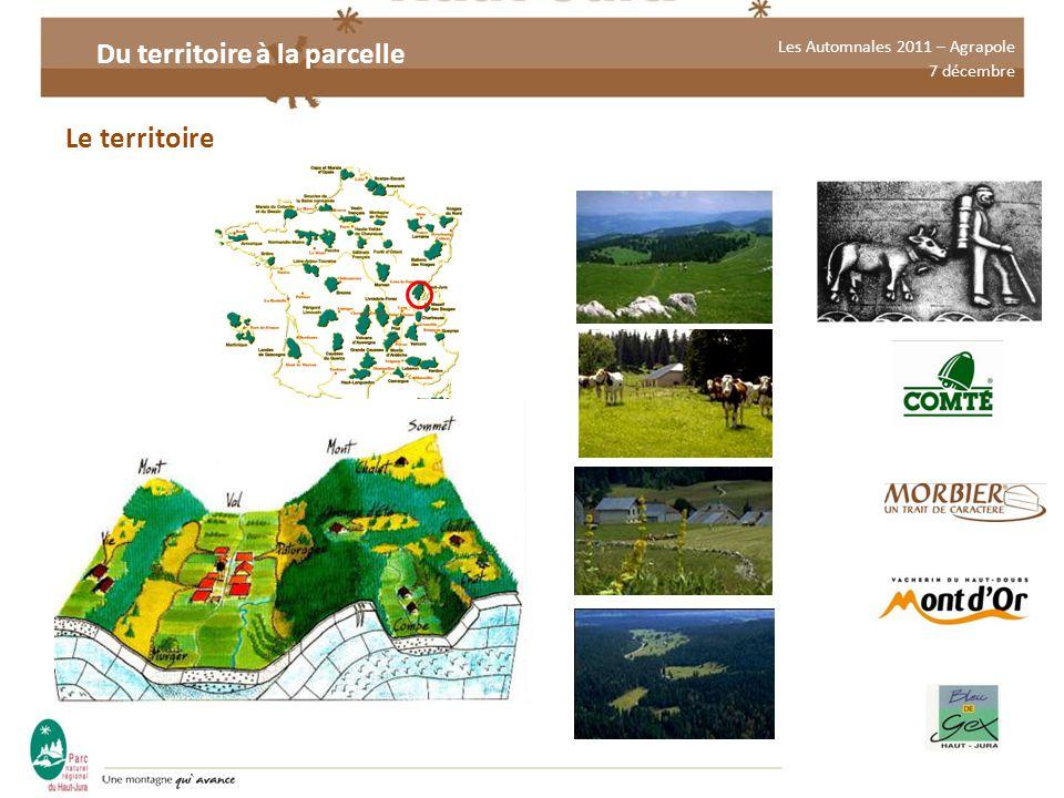 Les Automnales 2011 – Agrapole 7 décembre Du territoire à la parcelle Le territoire