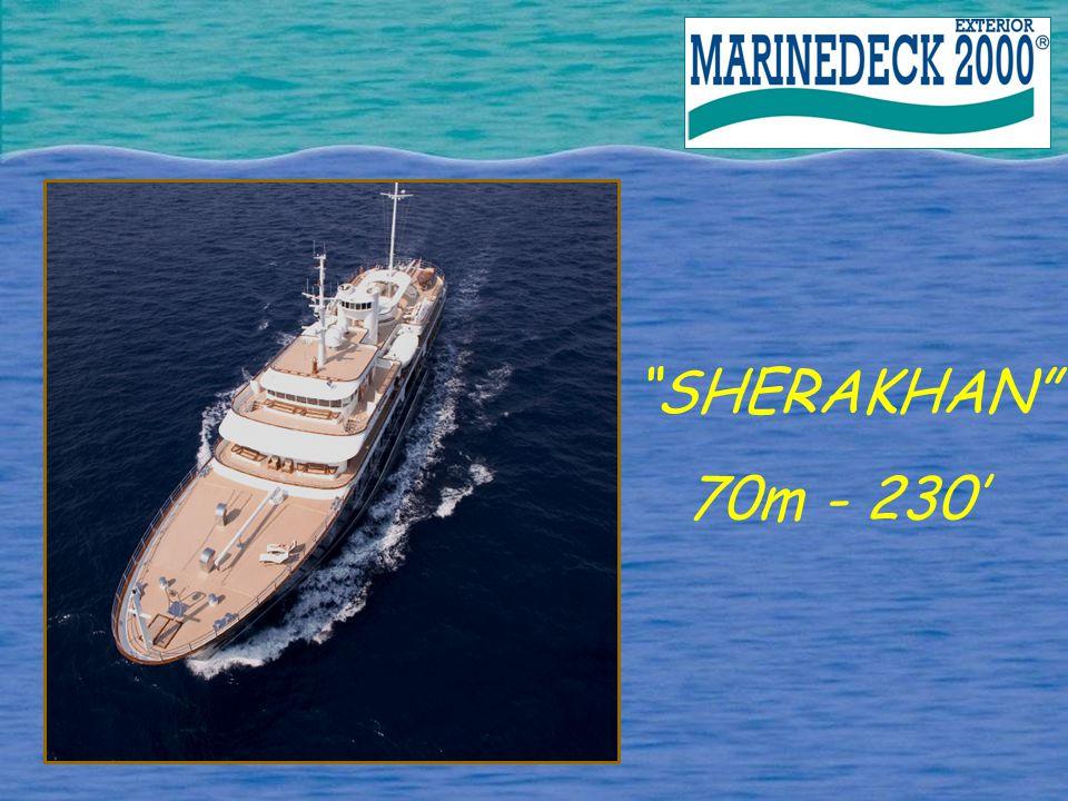 SHERAKHAN 70m - 230'