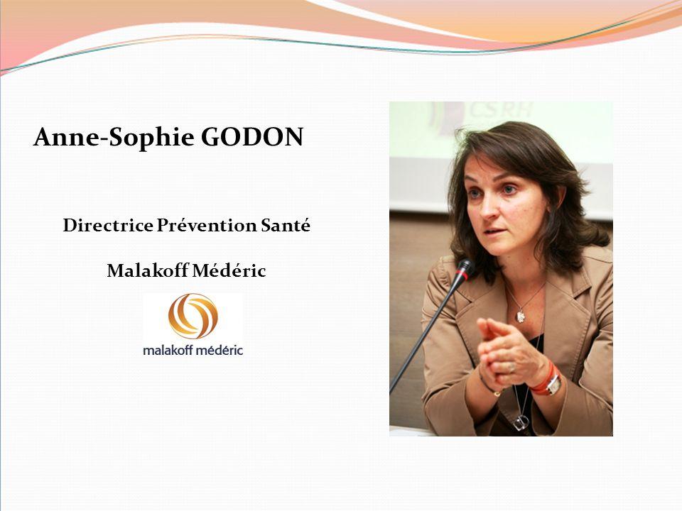 Anne-Sophie GODON Directrice Prévention Santé Malakoff Médéric