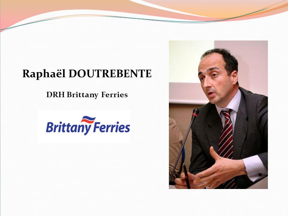 Raphaël DOUTREBENTE DRH Brittany Ferries