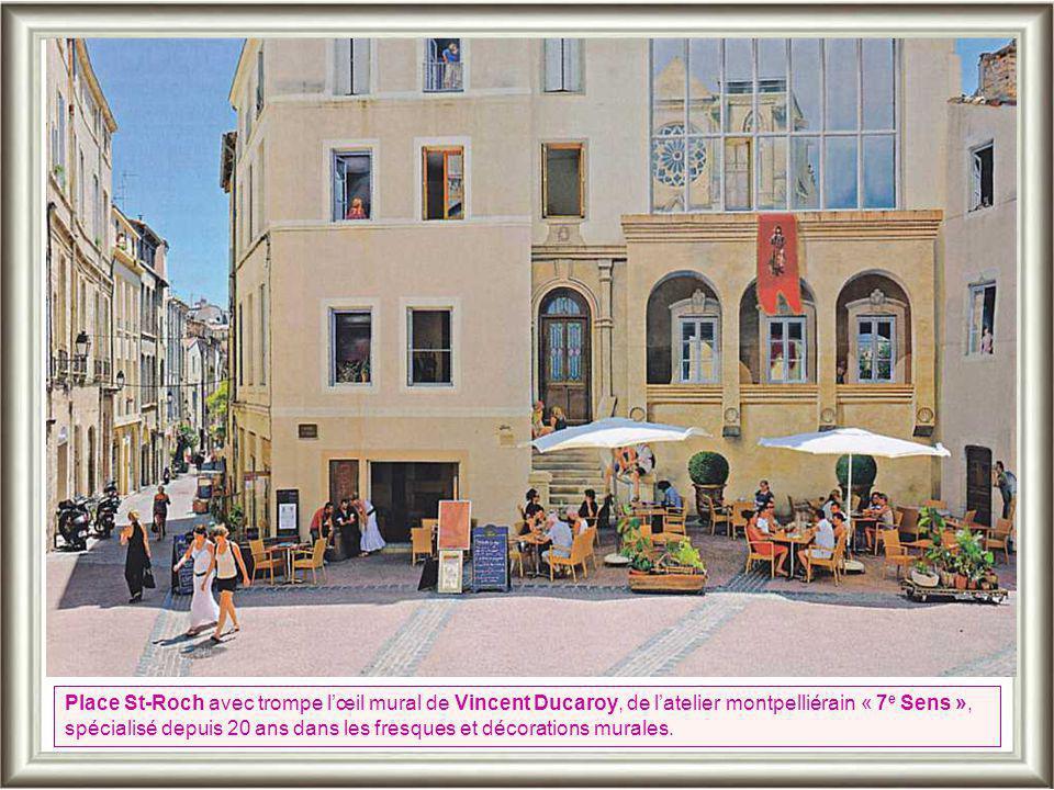 La Place de la Canourgue fut le cœur de l'Ecusson jusqu'au 17 e siècle. Les seigneurs de Guilhem fondèrent au 10 e s Montpellier qui fut rattachée à l