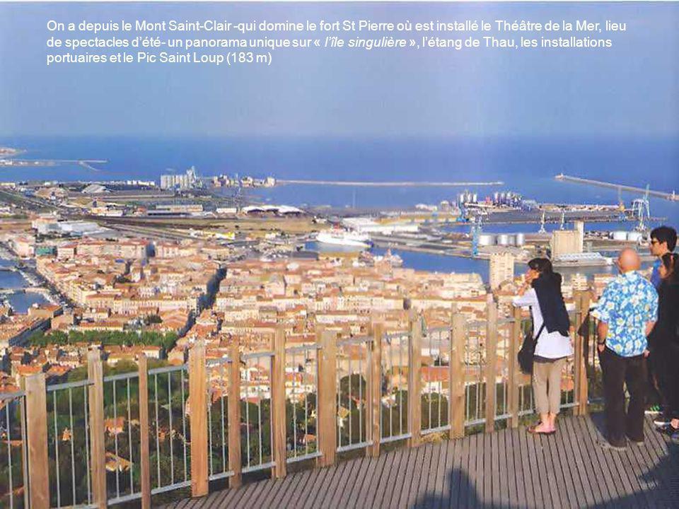 Voulue par Colbert, construite par les Italiens, la ville de Paul Valéry et Georges Brassens s'est posée entre la méditerranée et l'étang de Thau en l