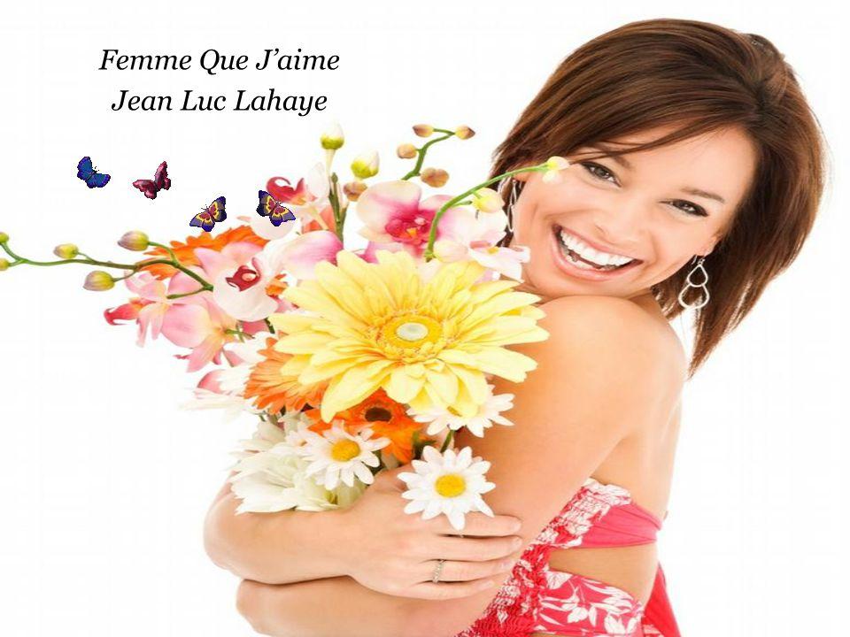 Femme Que J'aime Jean Luc Lahaye