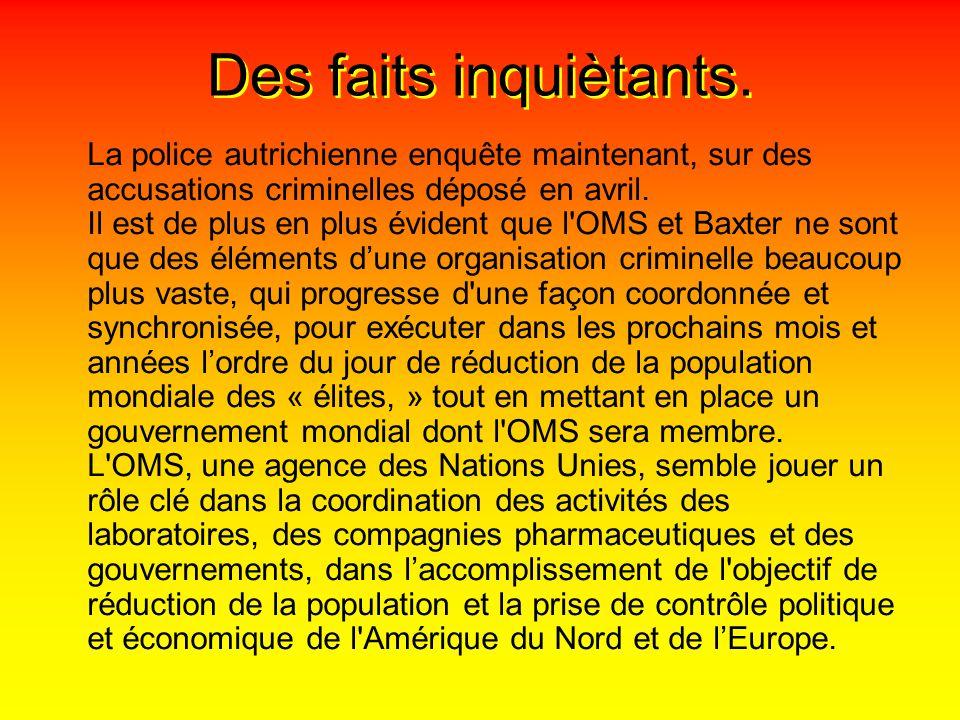 La France en panique.