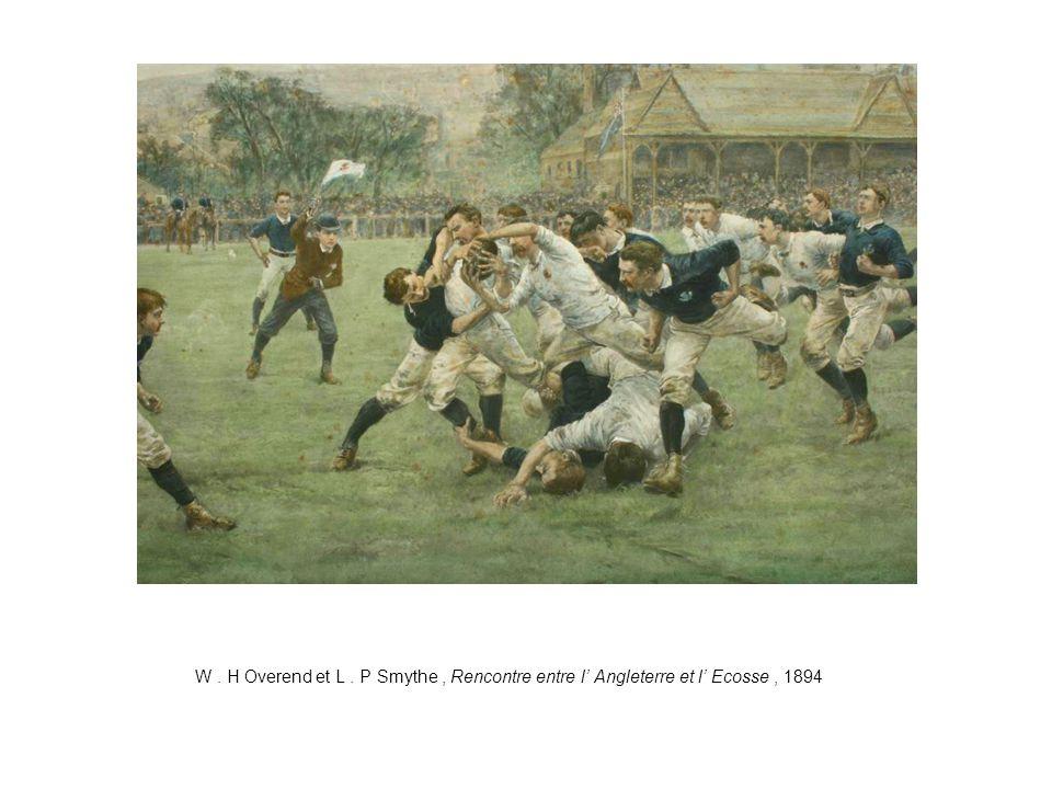 W. H Overend et L. P Smythe, Rencontre entre l' Angleterre et l' Ecosse, 1894