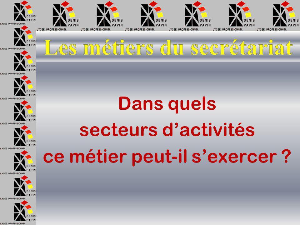 Quelles sont les qualités d'un(e) secrétaire