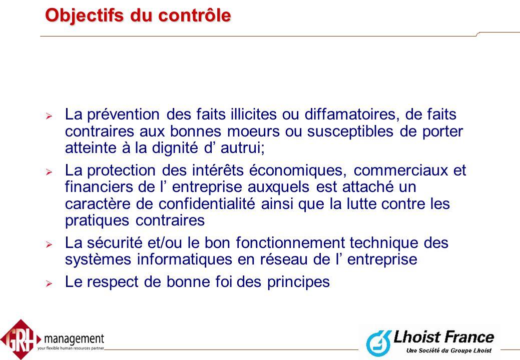 Contrôle des e-mails et internet?  CCT n° 81 du 26 avril 2002  Fixe les contours que peut prendre le controle d'un employeur  Objectifs du controle