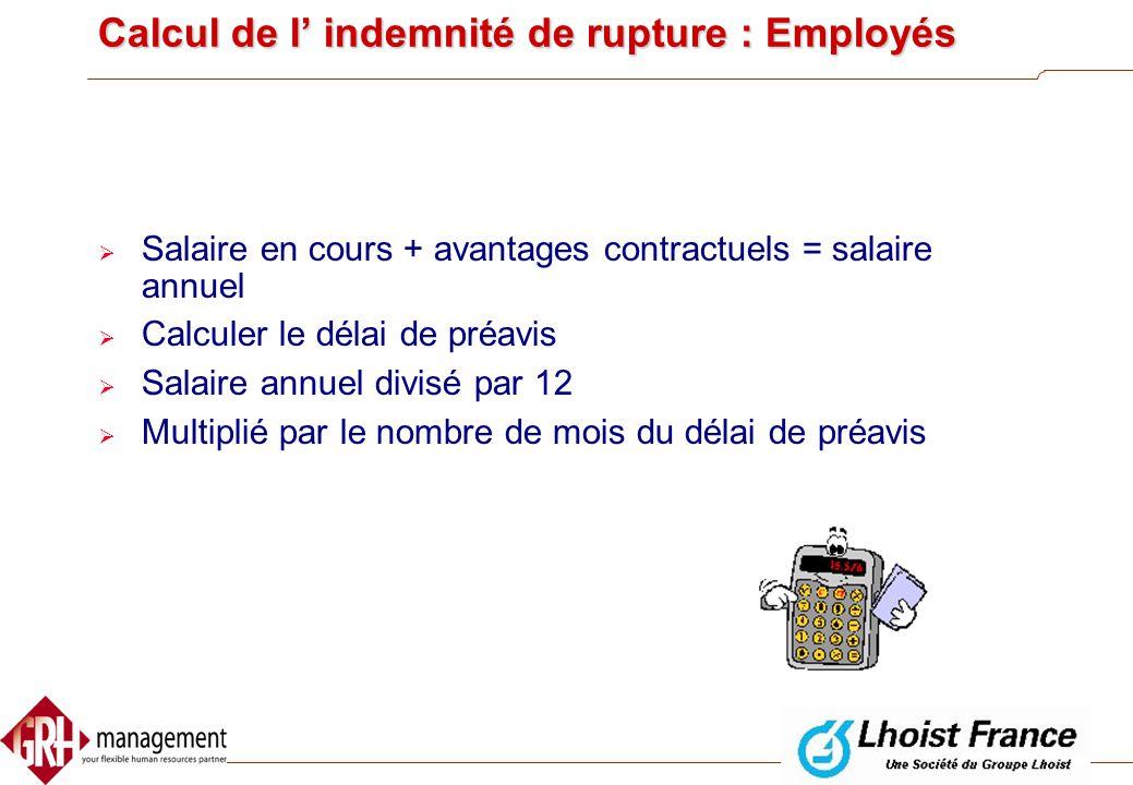 Modification unilatérale de conditions de travail essentielles  Conditions non essentielles: peuvent être modifiées de manière unilatérale par l'empl