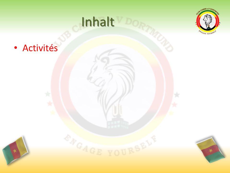 Inhalt Activités
