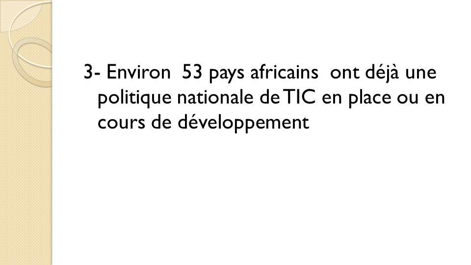 Politiques des TIC dans l'éducation en Afrique La politique: énoncé général ou des principes indiquant la ligne de conduite adoptée par un organisme public ou privé, dans un secteur donné, pour la gestion des activités.