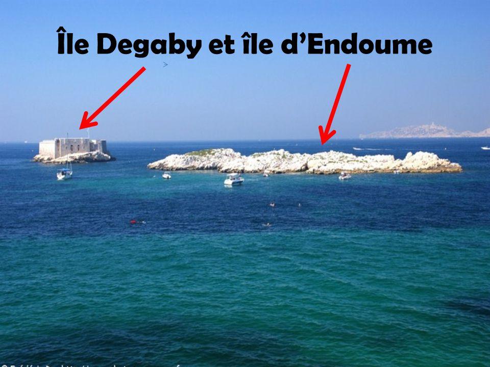 Île Degaby Ancien fortin aujourd'hui complexe hôtelier
