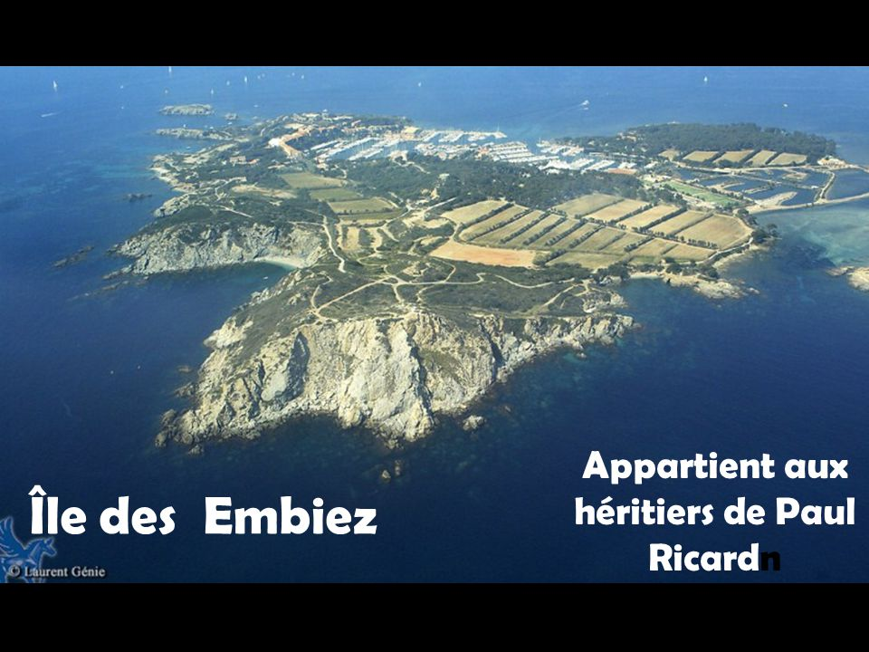 Île de Bendor Propriété de Paul Ricard