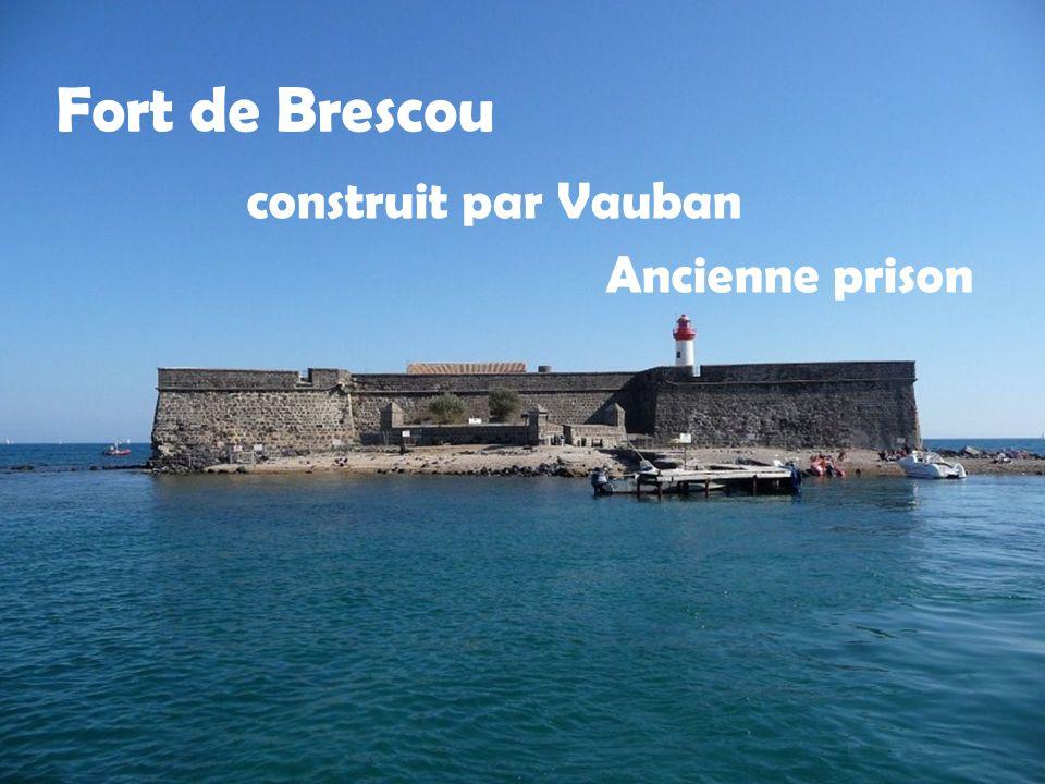 Fort de Brescou Ancienne prison construit par Vauban