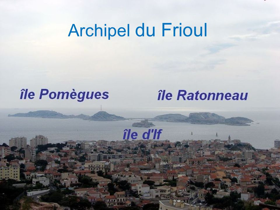 Île Sainte Marguerite La plus grande de l'archipel de Lérins