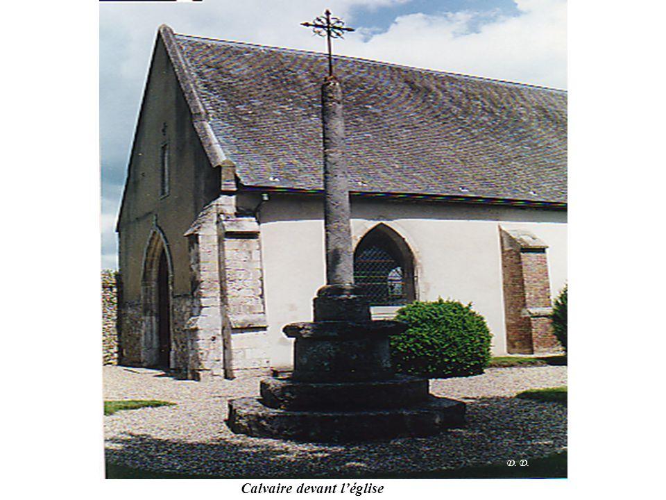 D. Calvaire devant l'église