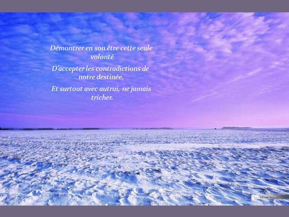 AVEC AUTRUI Moduler sa vie pour que l'image donnée Reflète ce que l autre peut et veut accepter.