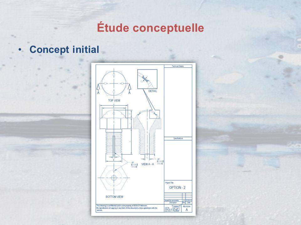 Étude conceptuelle Comment augmenter la réactivité des surfaces exposées du dispositif et créer une ouverture plus rapidement .