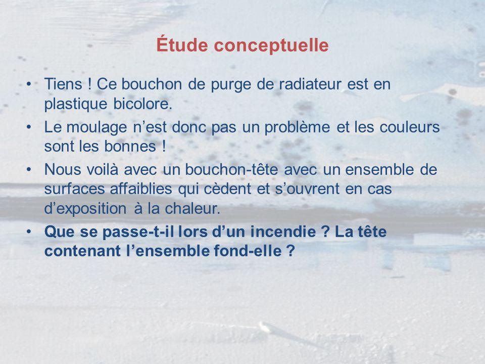 Étude conceptuelle Lorsqu'un liquide est vaporisé, l'effet Joule-Thomson crée une barrière réfrigérante au point de détente.