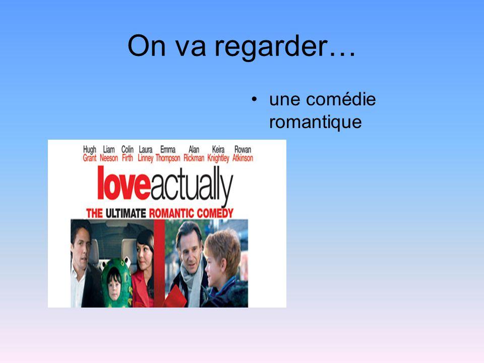 On va regarder… une comédie romantique