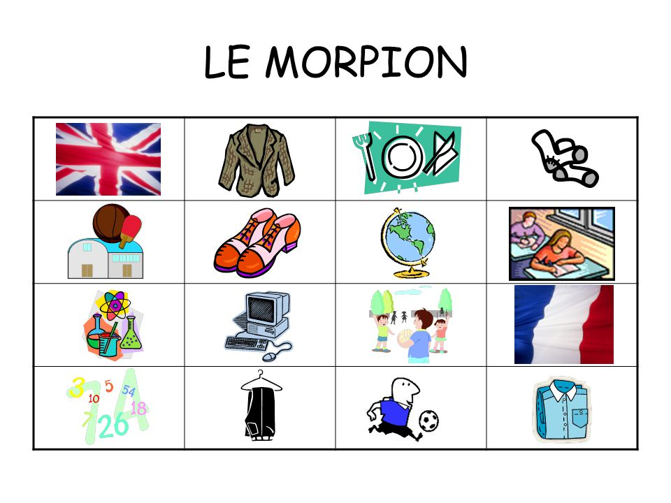 LEARNING OUTCOMES: By the end of this lesson; all of us will be able to give our opinion of 2 school subjects in French.