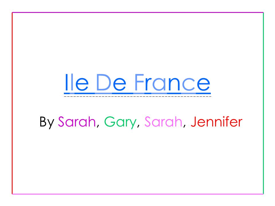 l emplacement géographique Ile de France est situé dans l au nord de France la population est 10.952.011 c est la plus grande région en France La ville principale est Paris, la capitale de France Les autres villes sont Essonne, Hauts-de-Seine, Paris, Seine-le Saint-Denis, Seine-et-Gâché, Val- de-Gâché, Val-d Oise, Yvelines