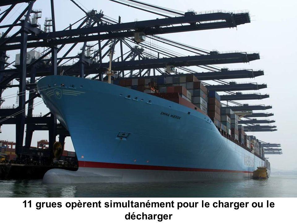 Origine - Denmark Longueur- 1,302 ft Largeur - 207 ft Charge net - 123,200 tons Moteur diesel - 14 cylindres en lignes (110,000 BHP) Vitesse de croisière - 31 knots