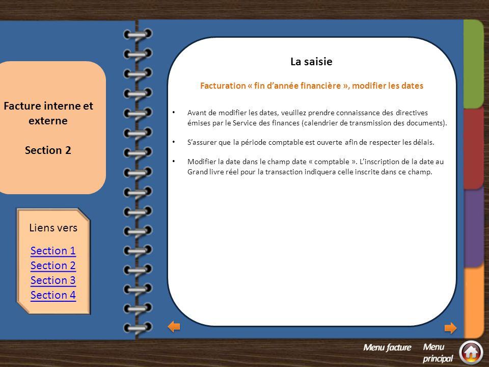 Section 2 question 2 La saisie Comment trouver l'information sur les taxes à la consommation.