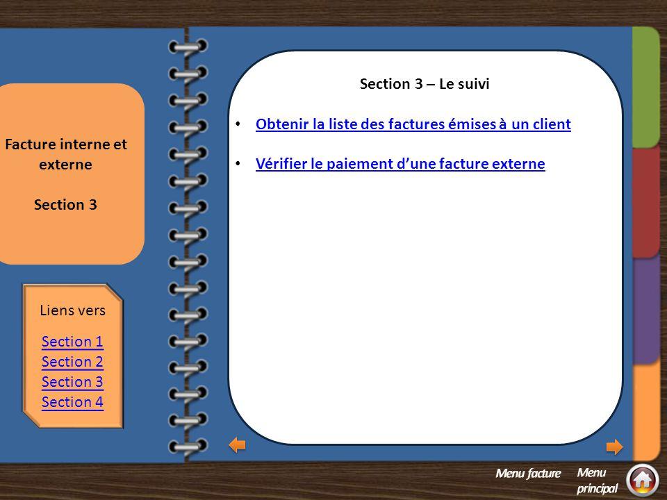 Section 2 question 2 La saisie Annuler une facture Facture au statut RDY et NEW = modifier pour CAN.