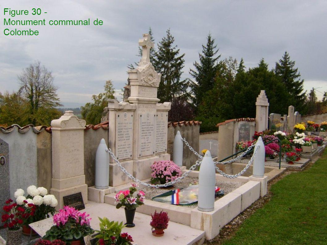 Figure 31 - Monument communal de Coublevie ← Figure 32 - Monument communal de Saint-Bueil →