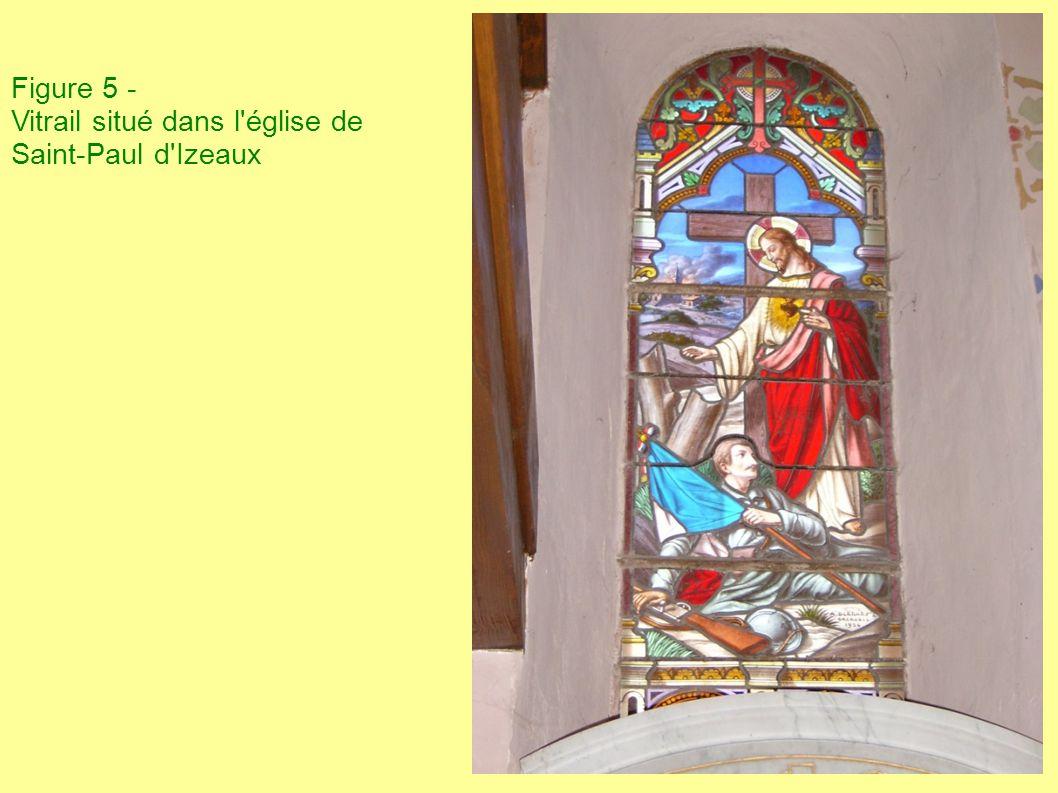 Figure 5 - Vitrail situé dans l'église de Saint-Paul d'Izeaux