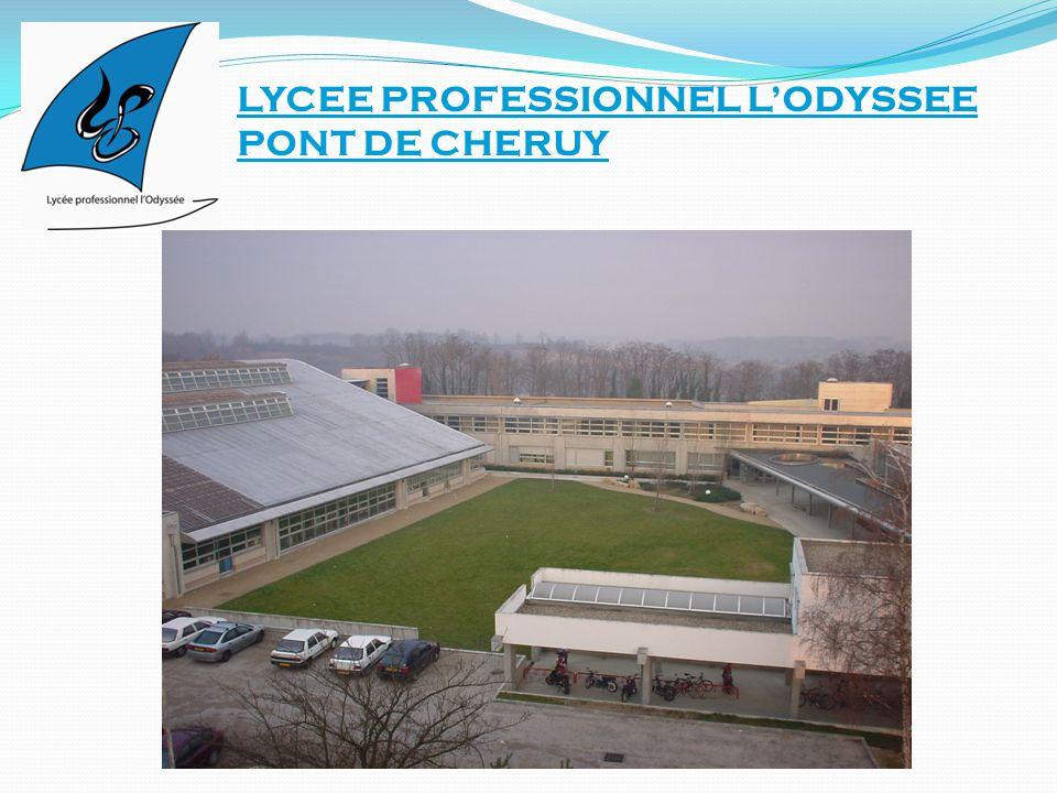 LYCEE PROFESSIONNEL L'ODYSSEE PONT DE CHERUY