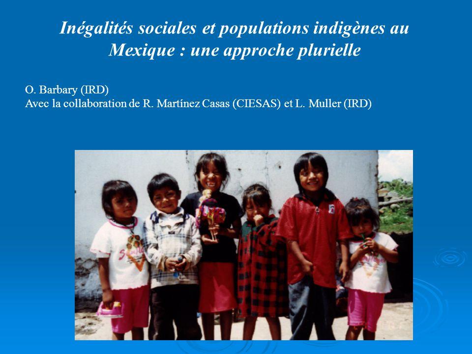 Objectifs : Ce travail étend les catégories d'identification de la population indigène mexicaine à partir de la variable d'auto déclaration d'appartenance ethnique nouvellement introduite dans le recensement de 2000.