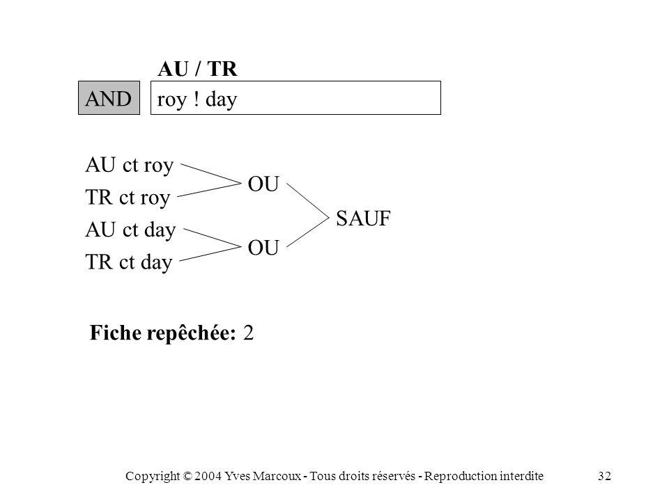 Copyright © 2004 Yves Marcoux - Tous droits réservés - Reproduction interdite32 ANDroy .