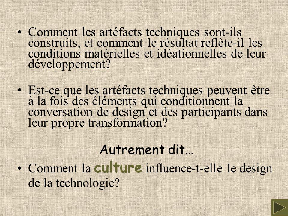 L 'objet: CSCW un hybride socio-technique interdisciplinarité - un rôle pour les sciences sociales dans le développement de la technologie technologie considérations sociales