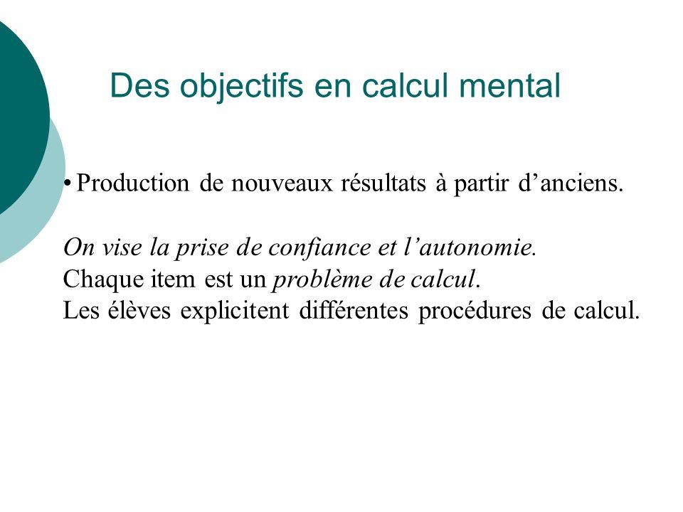 Le calcul mental Quelques exemples en quatrième -2 5 x 4 3 3 : 1 7 etc… 1 2 - 5 2 - Opérations sur les fractions Calcul littéral Développer 5 x (2- x ) Statistiques Calculer la moyenne des valeurs 8 ; 10 ; 15 10 3 x 10 8 Opérations sur les puissances de 10 etc… 10 5 10 7