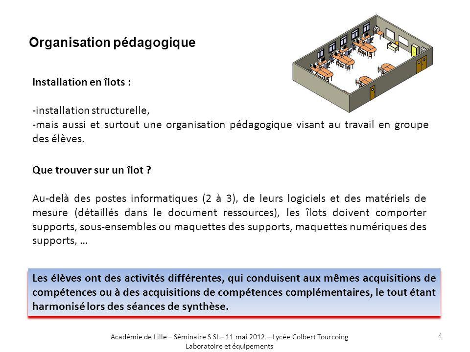 Organisation pédagogique Les élèves ont des activités différentes, qui conduisent aux mêmes acquisitions de compétences ou à des acquisitions de compé