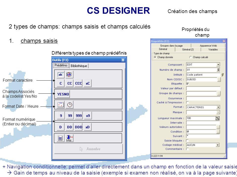 CS ENTRY Création patient/centre