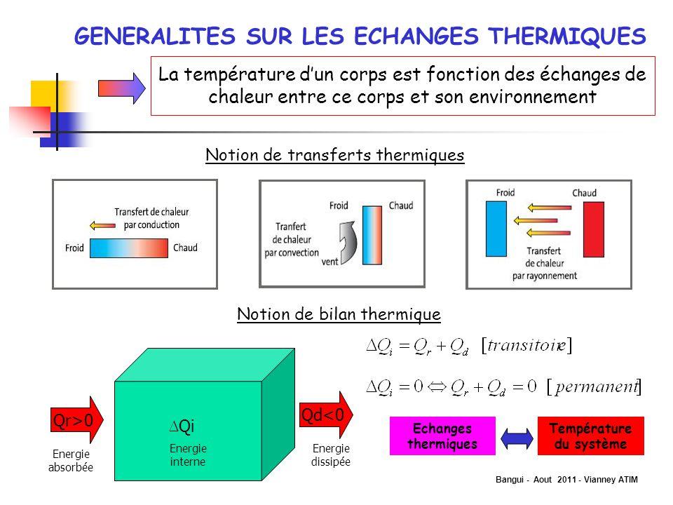 Bangui - Aout 2011 - Vianney ATIM SOLUTIONS MISES EN ŒUVRE: CAS DE LA FRANCE Un effort particulier en R&D a été consenti pour une meilleure efficacité énergétique des systèmes.