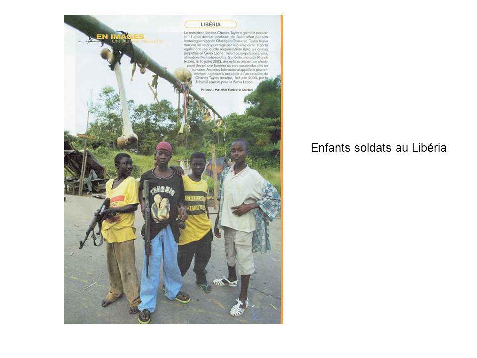 Enfants soldats au Libéria