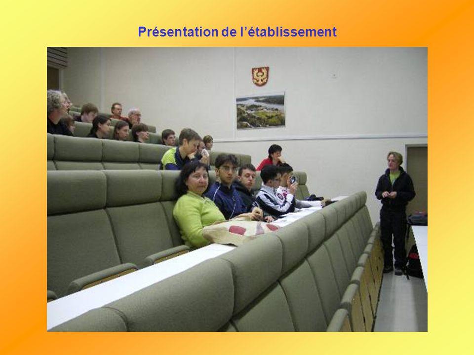 Mercredi le 09/05/07 Lycée de Raisio