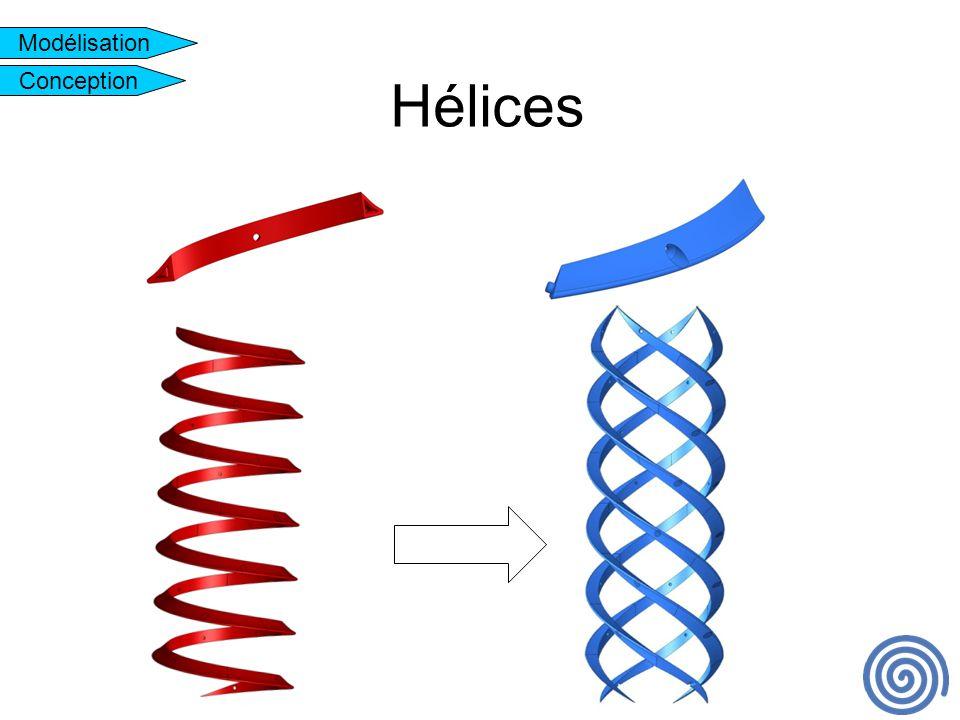Hélices Modélisation Conception